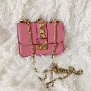 Valentino Pink Rockstuds purse